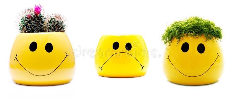 Happy sad stock photos
