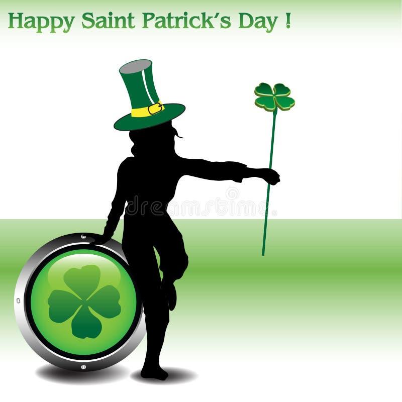 Happy Saint Patrick's Day stock image