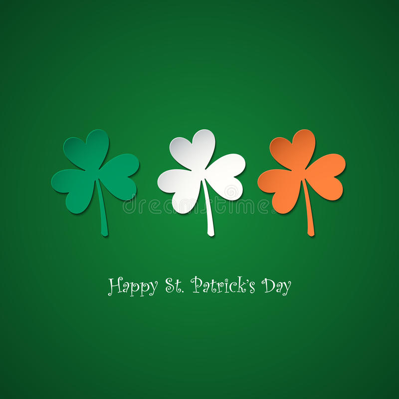 Lucky irish corner tab stock vector illustration of - Lucky color of the day ...