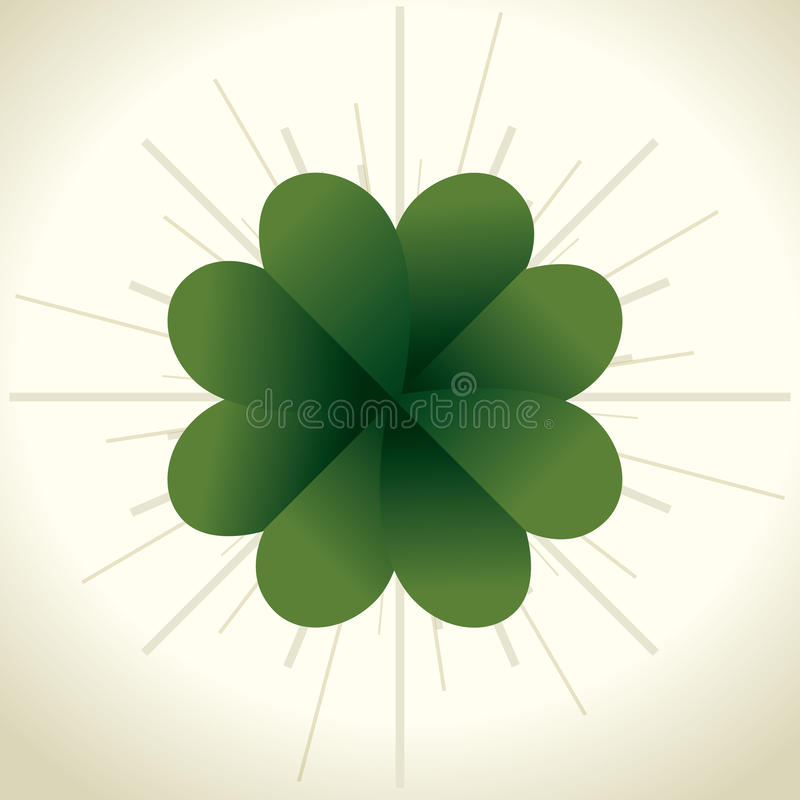 Happy saint patricks day card. Illustration design stock illustration
