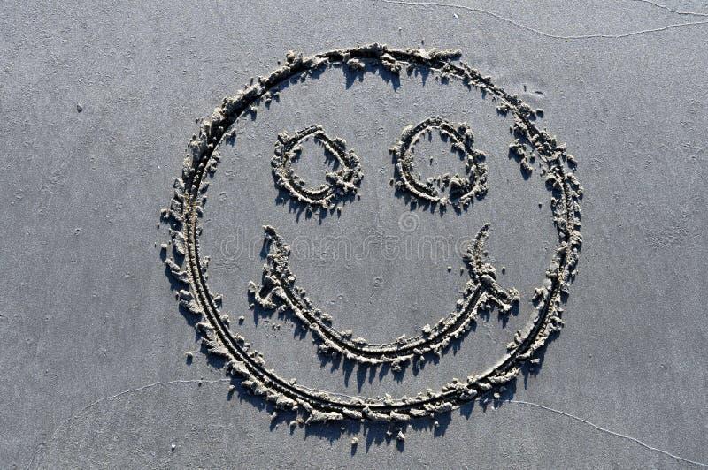 Happy In The Sand Stock Photos