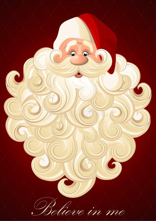 Happy Santa Claus royalty free stock photography