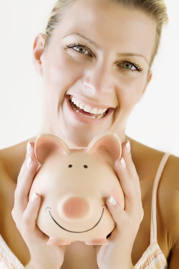 Happy saver stock photography