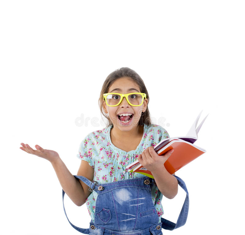 Happy School Girl Stock Images