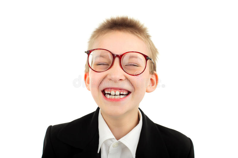 Download Happy schoolboy stock photo. Image of little, adorable - 19323874