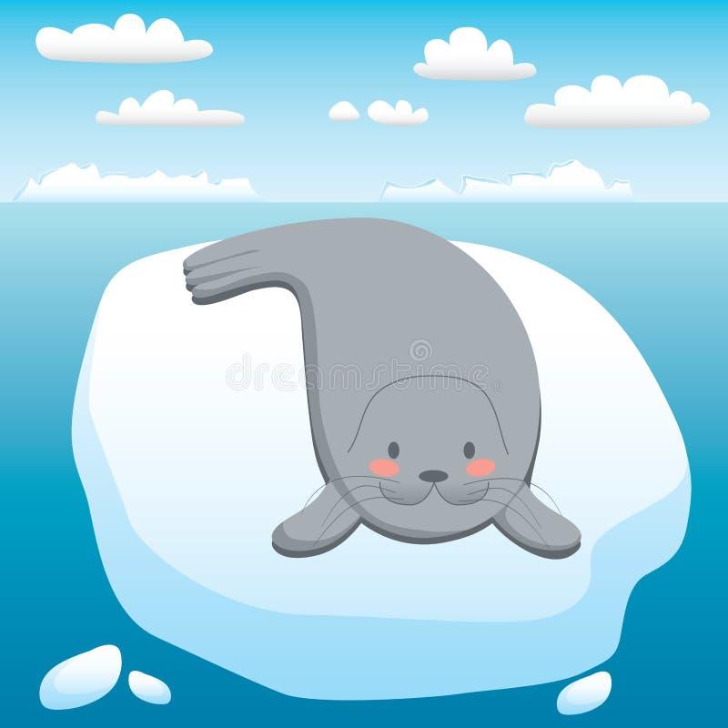 Happy Seal Stock Photography