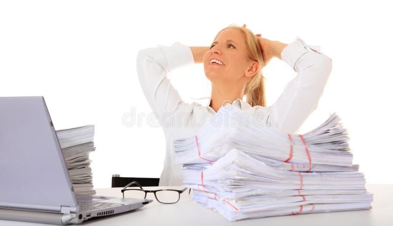 Download Happy secretary stock image. Image of woman, office, secretary - 19922665