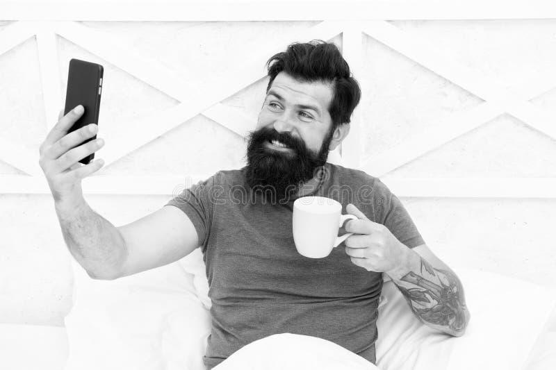 Beard guy selfie with Old Man