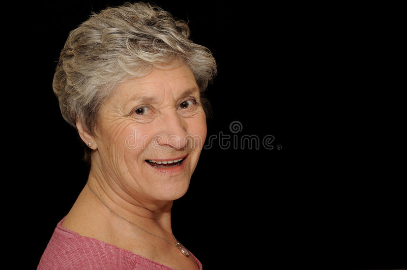 Download Happy Senior stock photo. Image of lady, caucasian, cheerful - 4693726