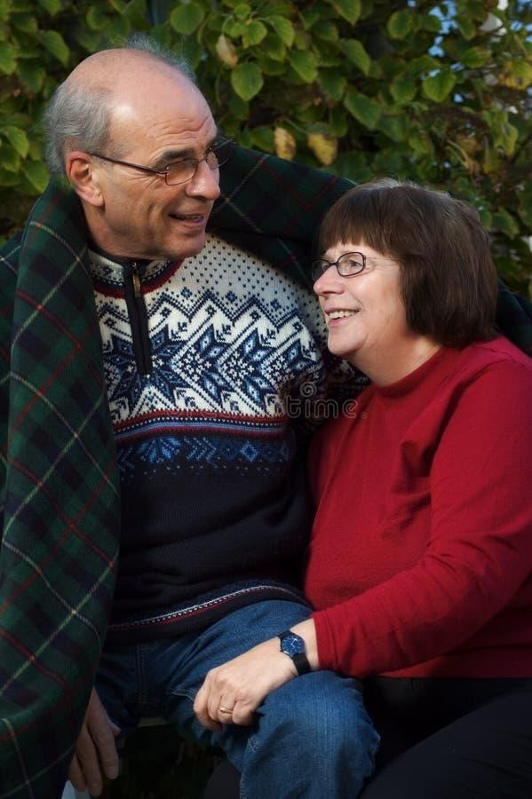 Download Happy senior couple stock image. Image of female, bond - 11348861