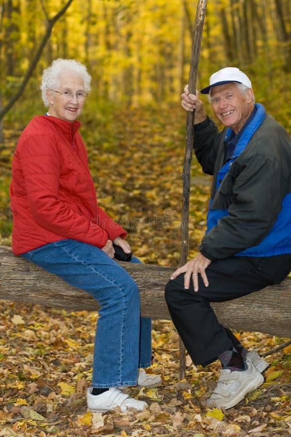 Happy senior couple. stock photography