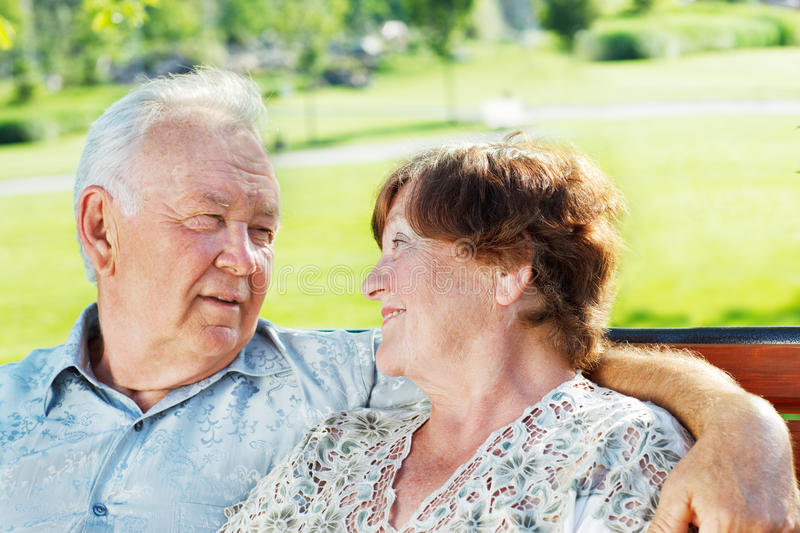 Download Happy senior couple stock image. Image of retirement - 25253543