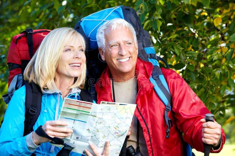 Happy senior couple. royalty free stock photos
