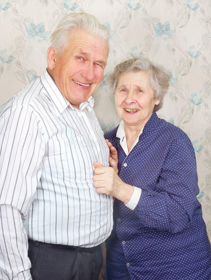 Free Happy Senior Couple Laugh Stock Photography - 17248522
