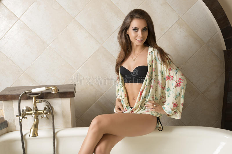 Sexy girls in the bathtub