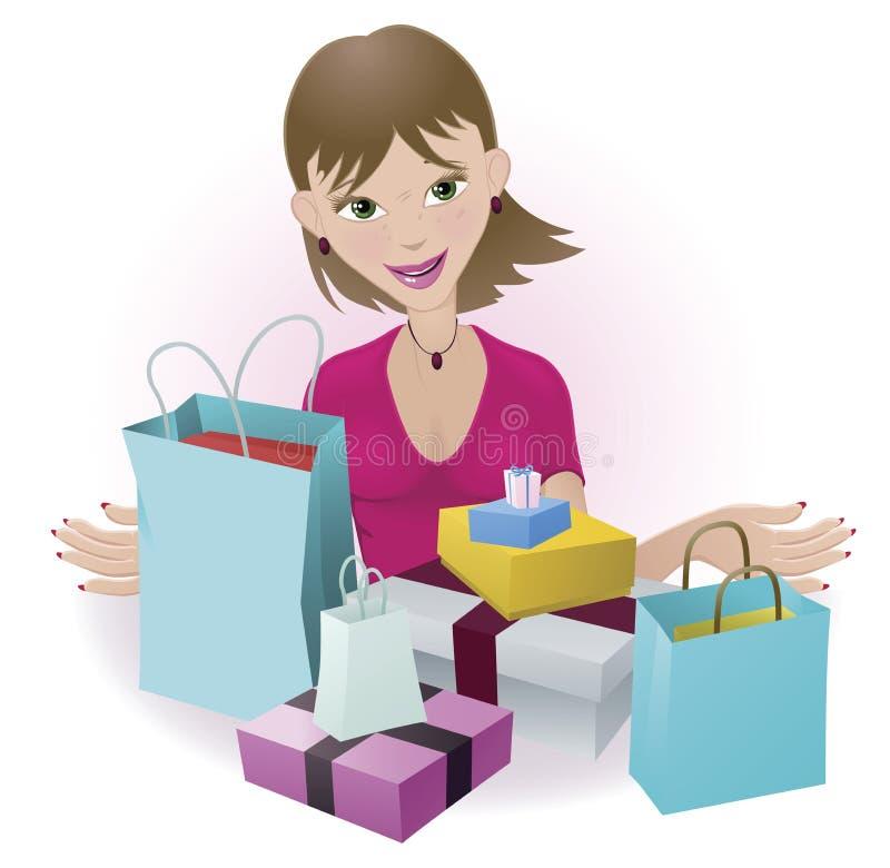 Free Happy Shopper Stock Photos - 19365843