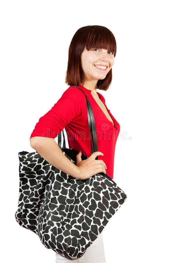 Download Happy shopping girl stock photo. Image of beauty, young - 16348032