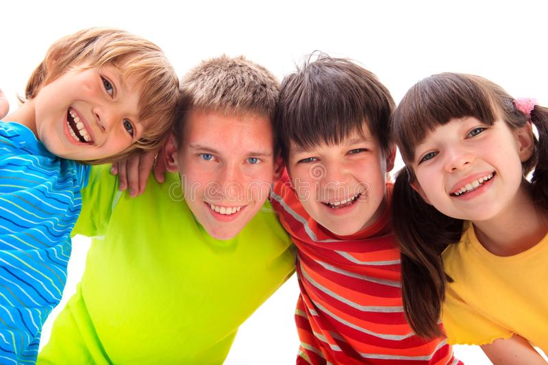 Happy Siblings Stock Photography