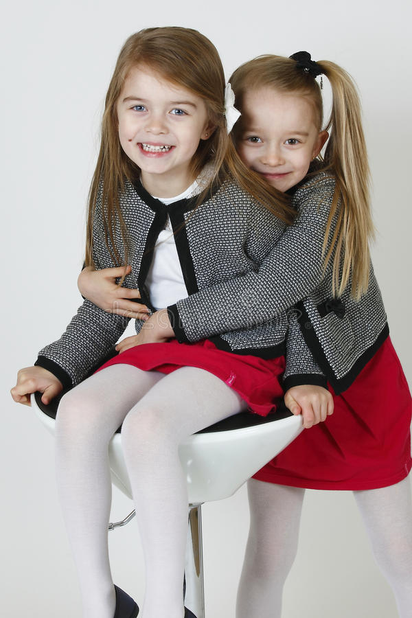 Download Happy sisters stock image. Image of children, amused - 38530943