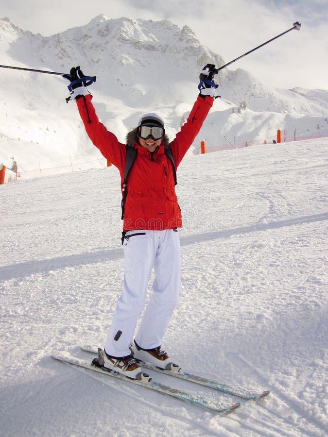 Happy Skier Free Public Domain Cc0 Image