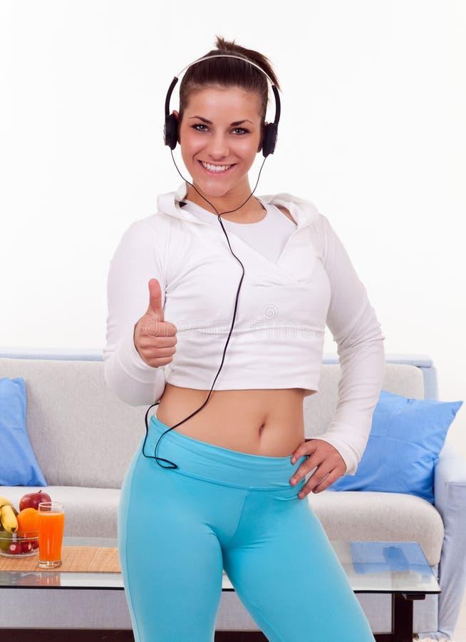 Download Happy slim girl stock photo. Image of lose, slim, pretty - 20913284