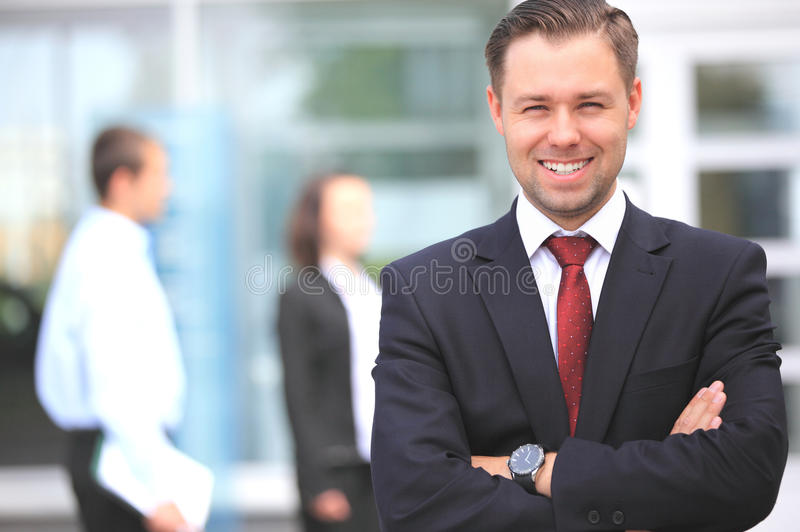 Download Happy Smart Business Man Royalty Free Stock Photos - Image: 25795058