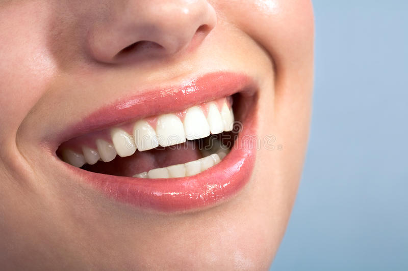 Download Happy smile stock image. Image of close, happiness, mouth - 10495167