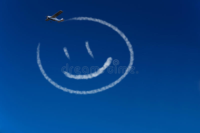 Download Happy smiley in the sky stock illustration. Image of fantasy - 30521226