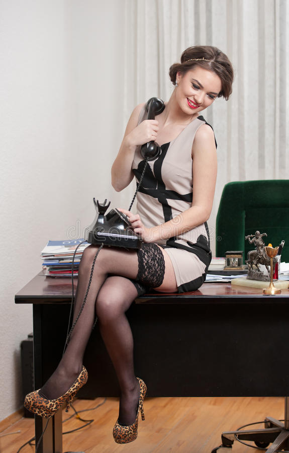 Elegant Ladies In Stockings