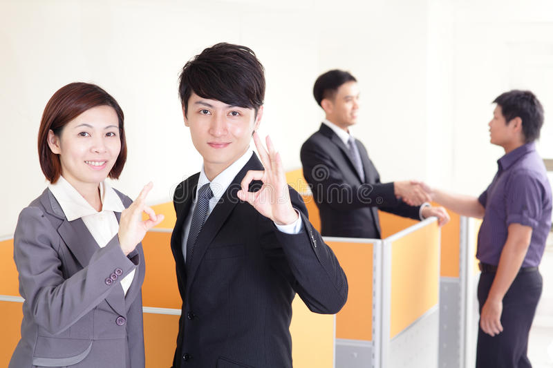 Download Happy Smiling Business Team Stock Image - Image: 34844063