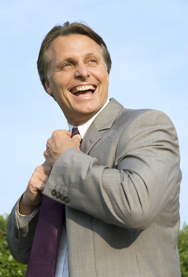 Download Happy smiling businessman. stock image. Image of agent - 9663109