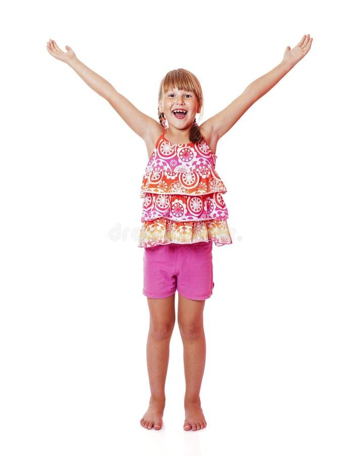 Happy smiling girl stock image