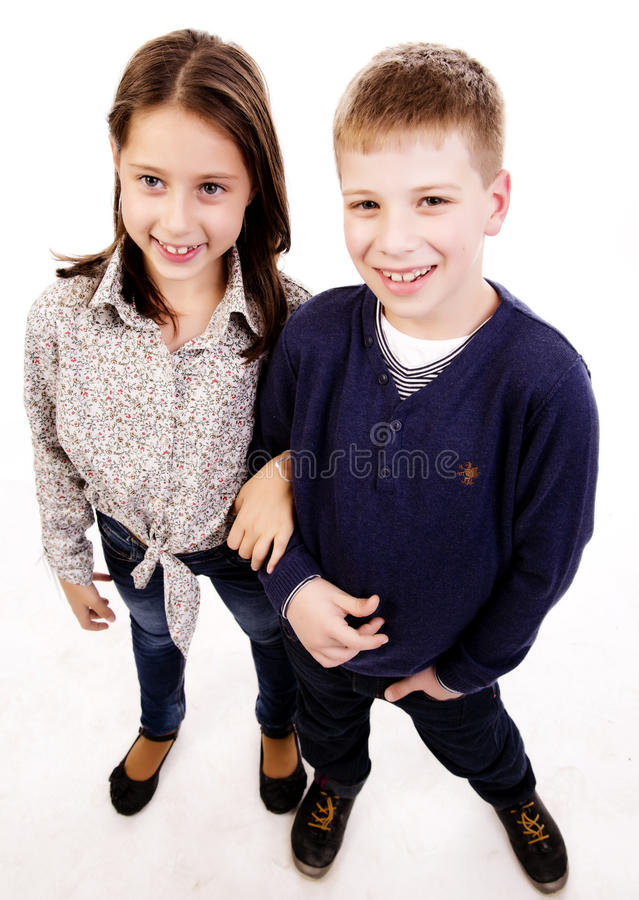 Happy Smiling Kids Stock Photography