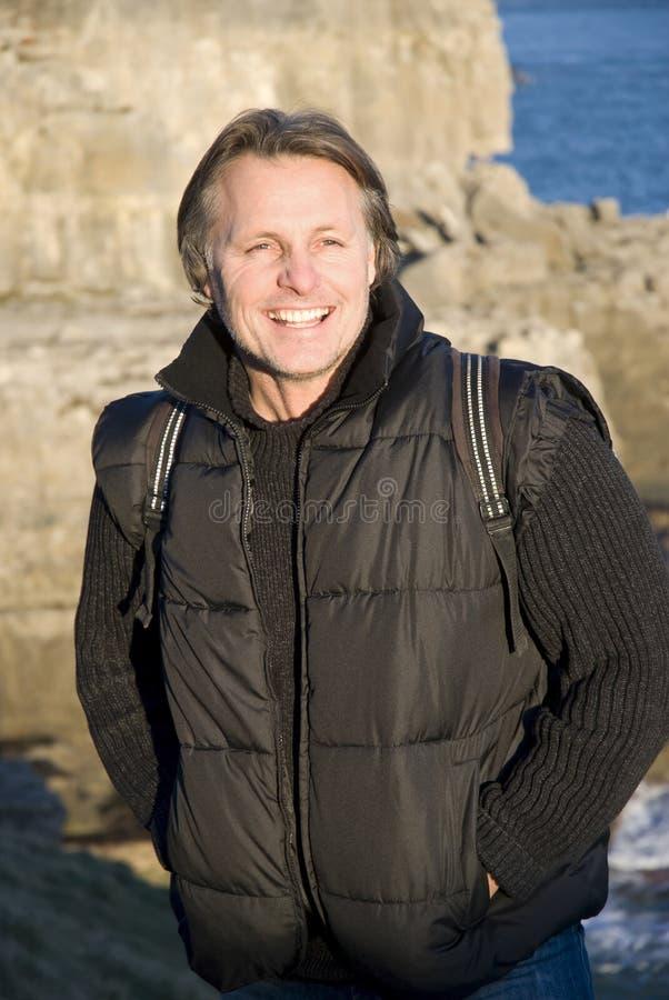Free Happy Smiling Outdoor Man Stock Photo - 12882300