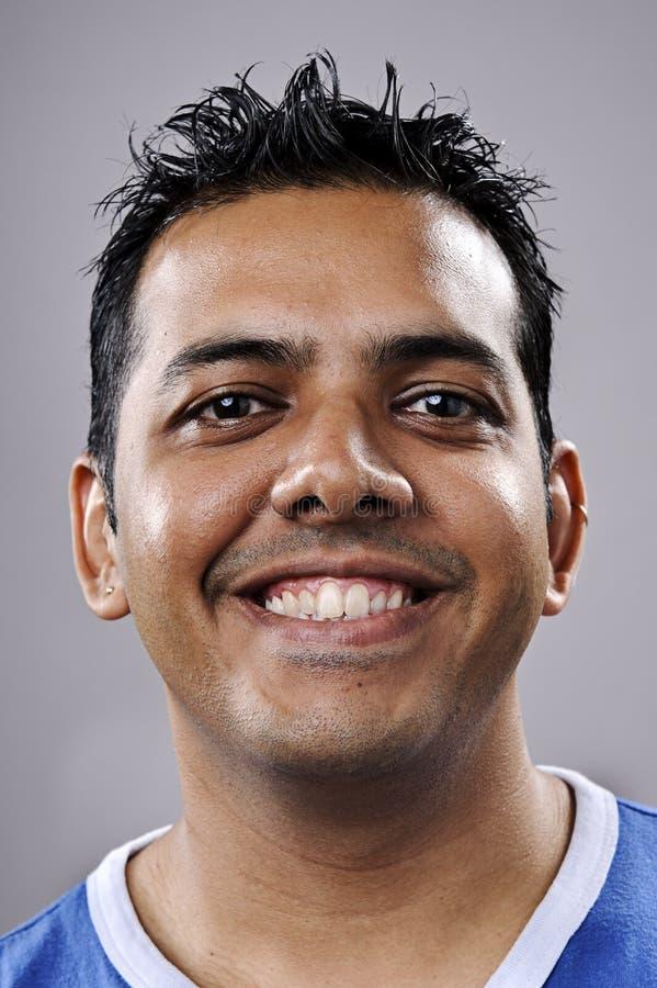 Happy smiling portrait stock image