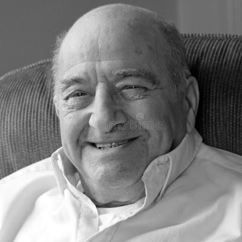 Download Happy, Smiling Senior Man Looking At Camera Stock Photo - Image: 14851952