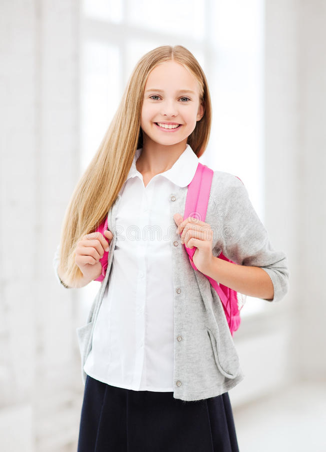 Download Happy And Smiling Teenage Girl Stock Image - Image of beautiful, happy: 34105603