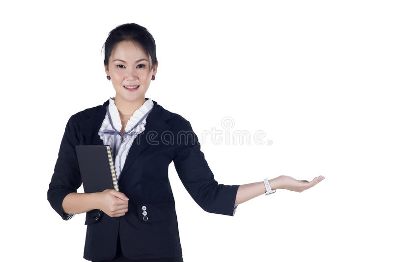 Download Happy Smiling Young Business Woman Stock Image - Image: 28061299
