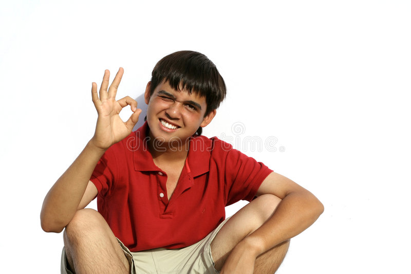 happy smiling youth stock photography