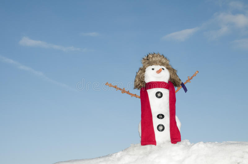 Download Happy snowman stock image. Image of happiness, scarf - 16720817
