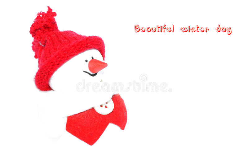 Download Happy Snowman. stock photo. Image of christmas, elation - 17565346
