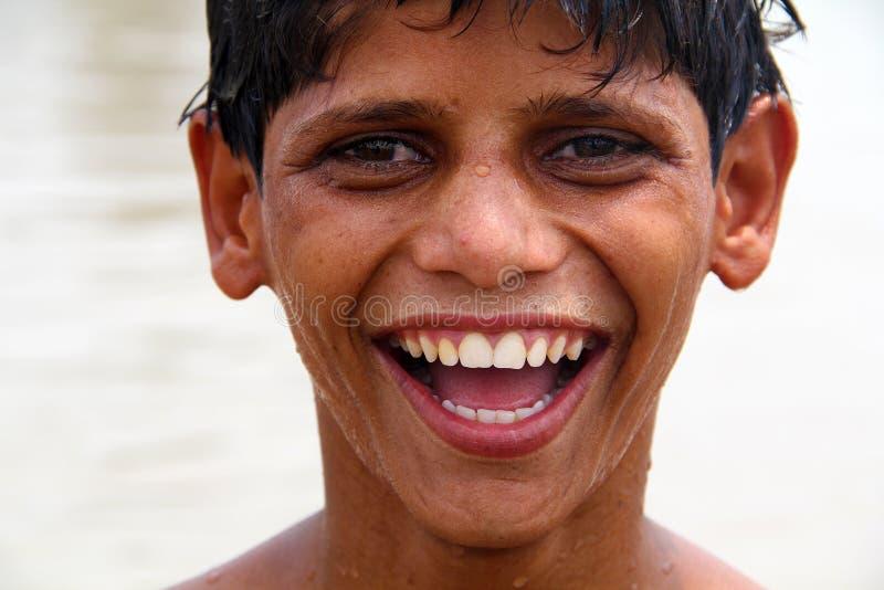 Happy South Asian Teen stock photo