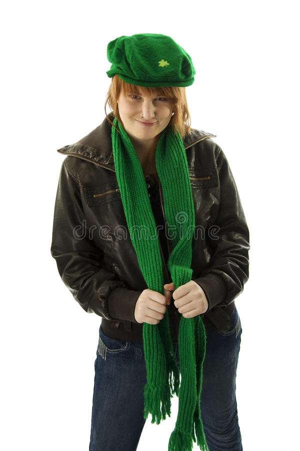 Download Happy St. Patrick's Day stock photo. Image of pretty - 13107668