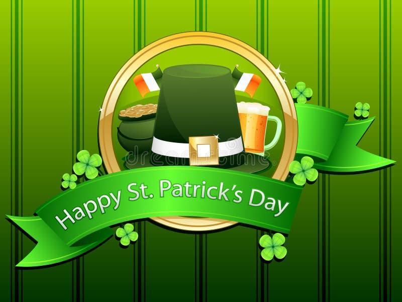 Happy St. Patrick's Day stock photography