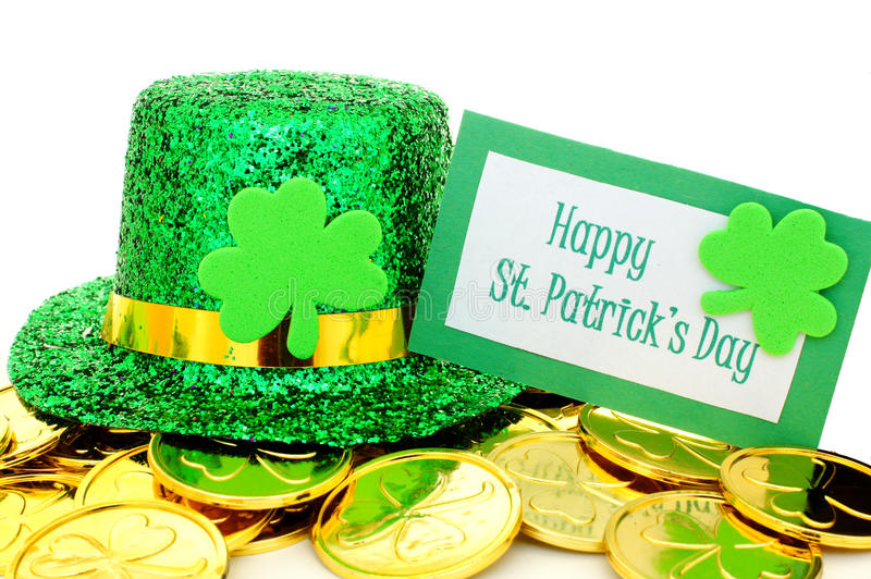 Download Happy St Patricks Day stock photo. Image of leaf, background - 28928550
