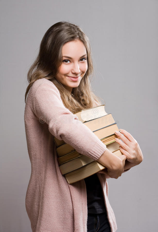 Happy Student. Royalty Free Stock Image