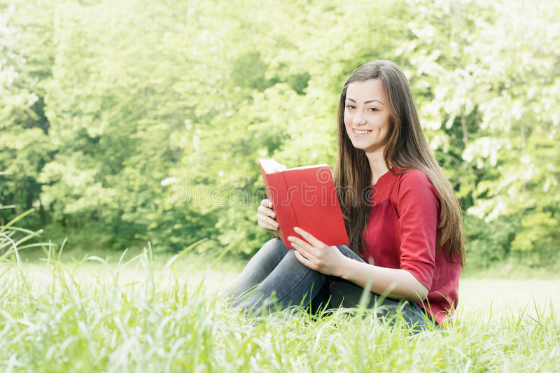 Download Happy Student Outdoors Relaxed Stock Images - Image: 19524684