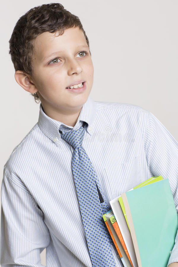 Download Happy Student Ready For School Stock Photo - Image: 33295608