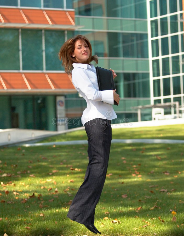 Download Happy for success stock photo. Image of teen, woman, business - 1357816