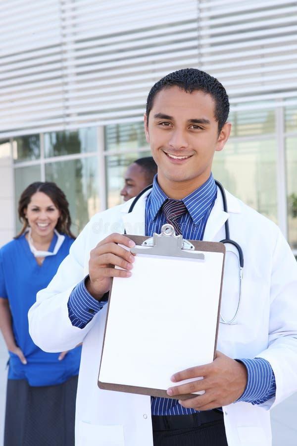 Happy Successful Medical Team Stock Photos